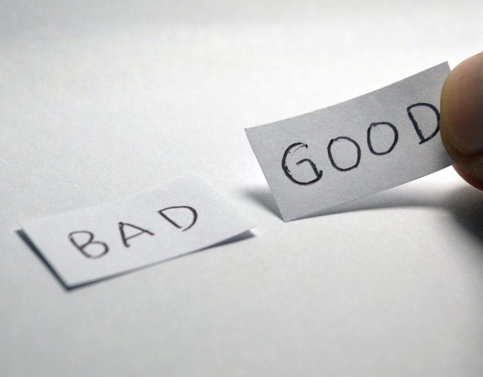 Bom ou ruim, como decidir?